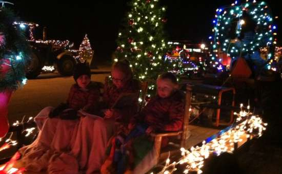 7th Annual Holiday Lighted Tractor Parade In Greenwich