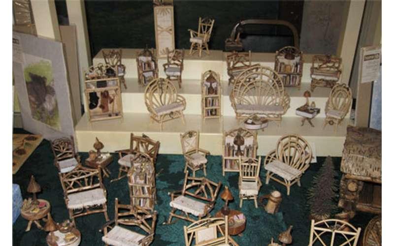 Toy Adirondack furniture