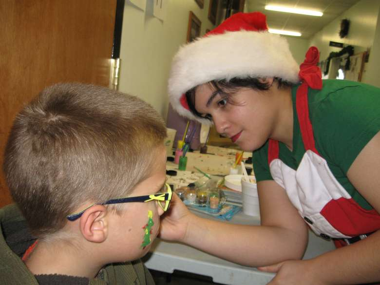 holiday face painting