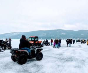 ATV on ice