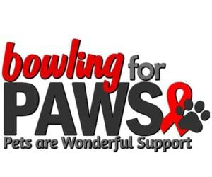 Bowling for PAWS logo