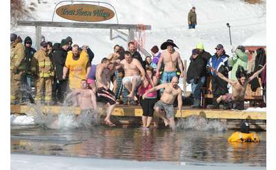 polar plunge at trout house
