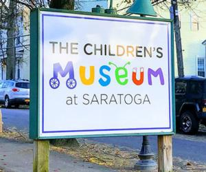 kids museum sign