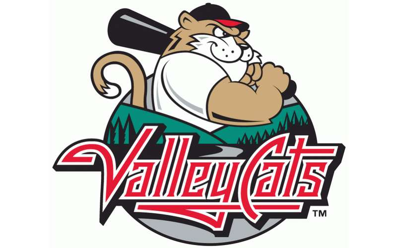 valleycats baseball logo