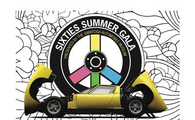 Sixties Summer Gala Banner