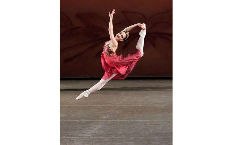 Principal dancer Ashley Bouder in Robbin's &quote;The Four Seasons
