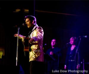 elvis tribute artist performing