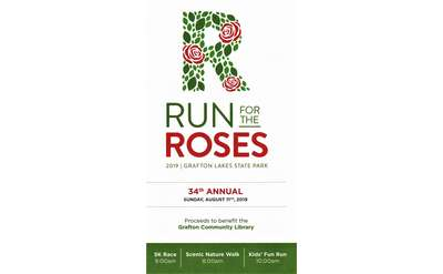 Run For the Roses 5K Poster