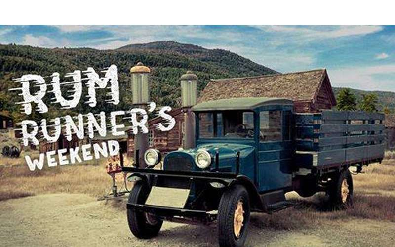 rum runners weekend logo