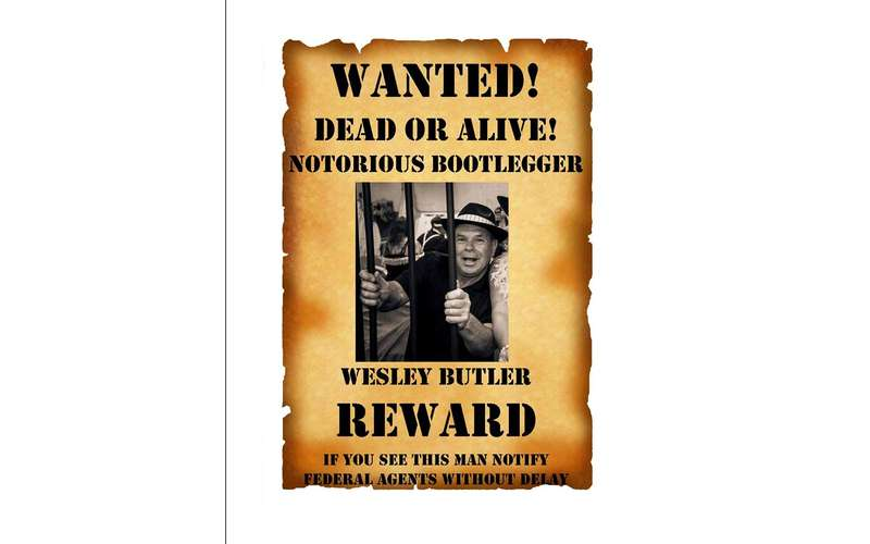 fake wanted poster