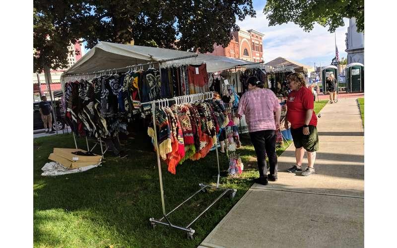 clothing vendor