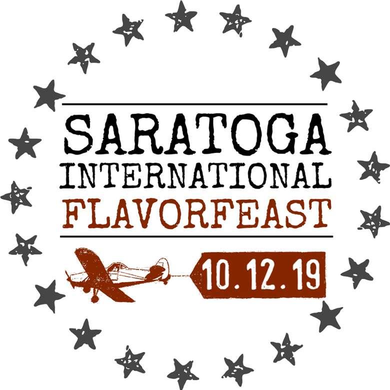 saratoga international flavorfeast 2019 logo