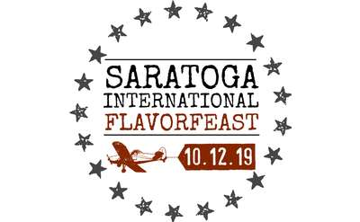 saratoga international flavorfeast 2019 logo