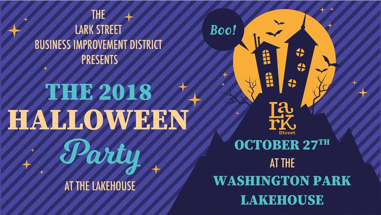 The 2018 Halloween Party poster