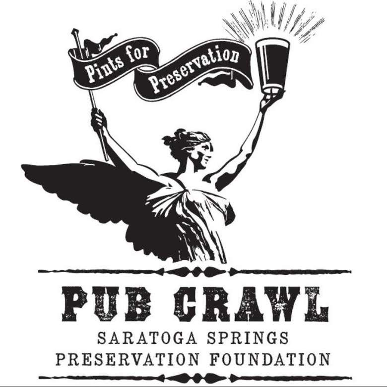 pub crawl logo