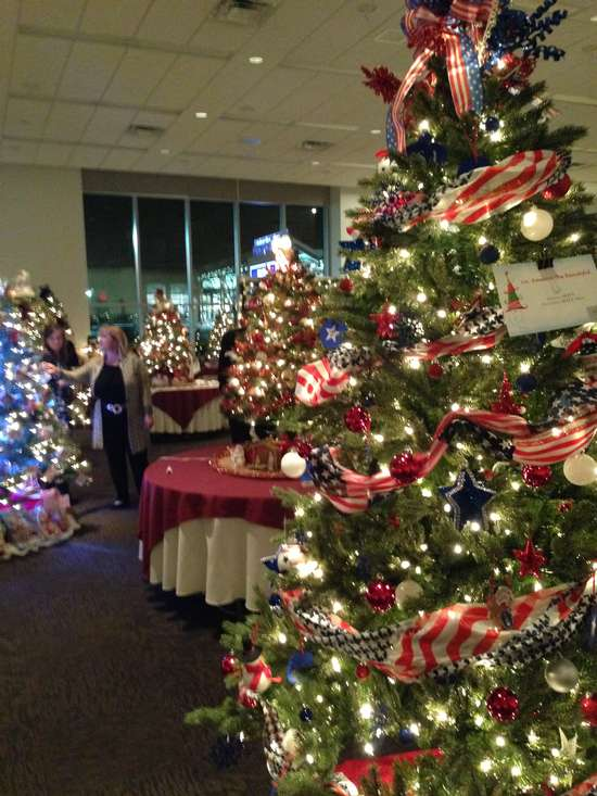 Saratoga Festival Of Trees Preview Reception Wednesday