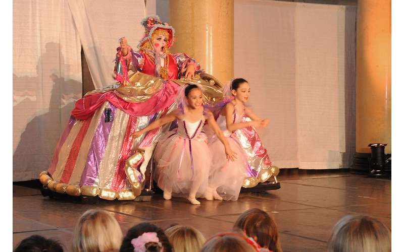 dancers performing the nutcracker