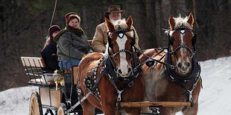 frost faire wagon ride