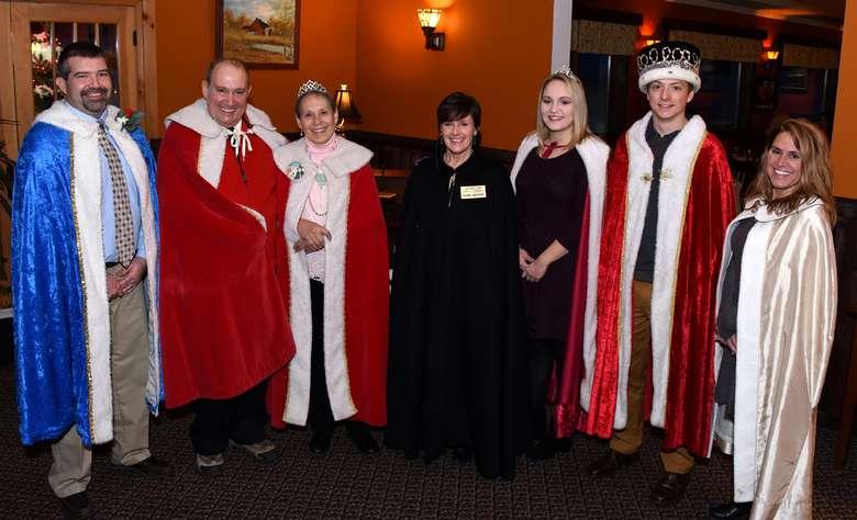 royalty reception dinner