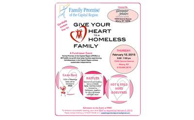 Give Your Heart to a Homeless Family