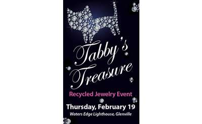 ''Tabby's Treasure'' Recycled Jewelry Event