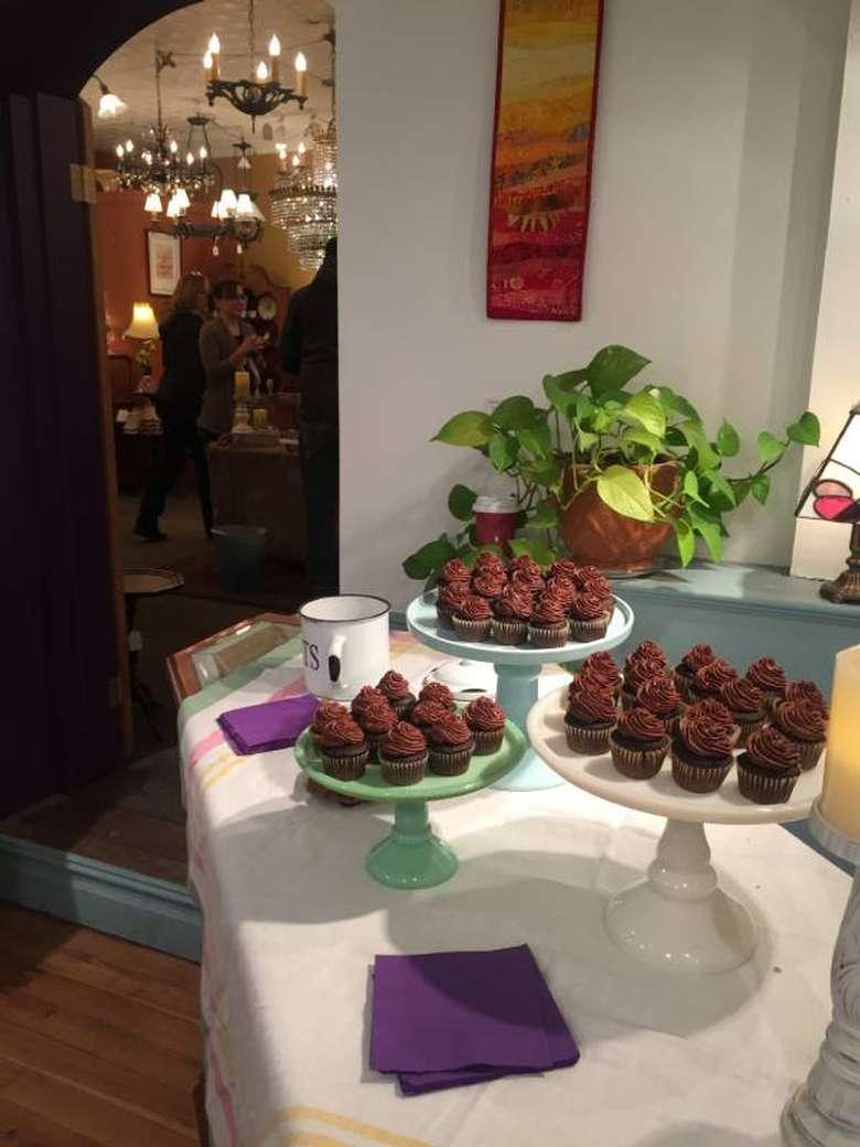 display of chocolate treats