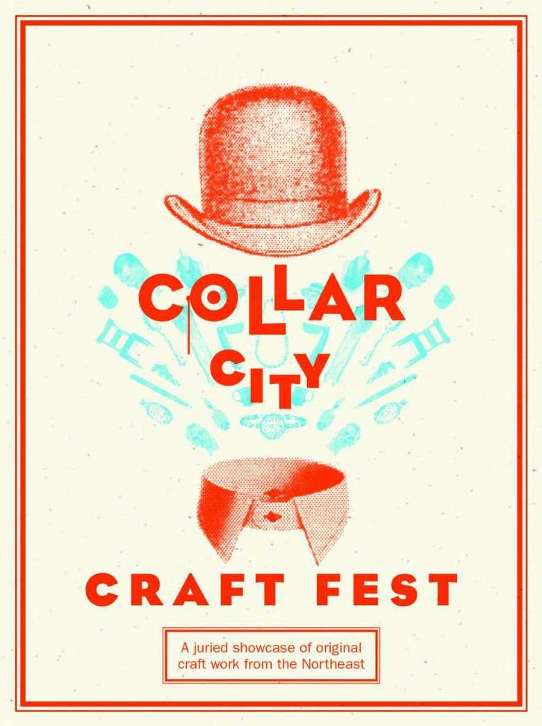 collar city craft fest poster