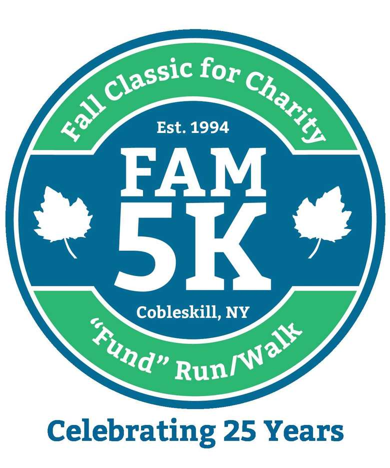 Fall classic for charity fam 5k logo