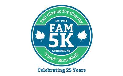 Fall classic for charity fam 5k logo
