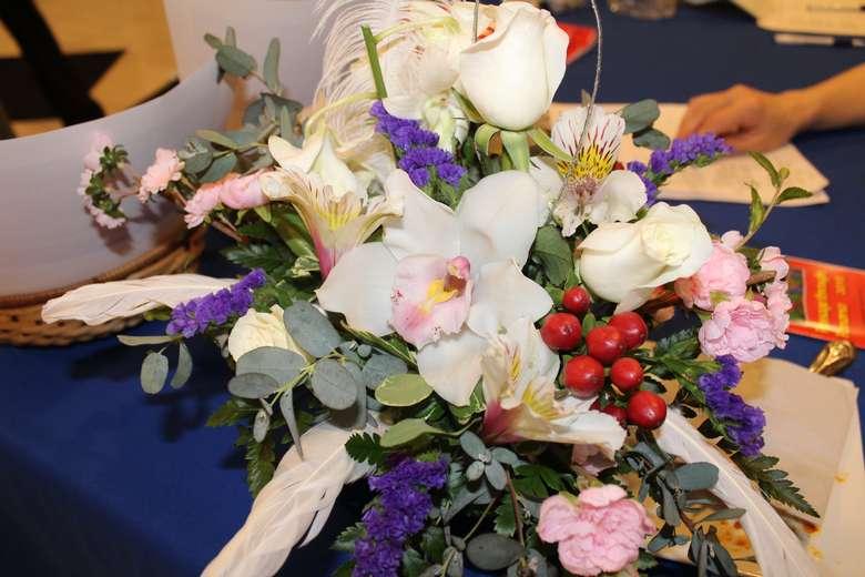 flower display