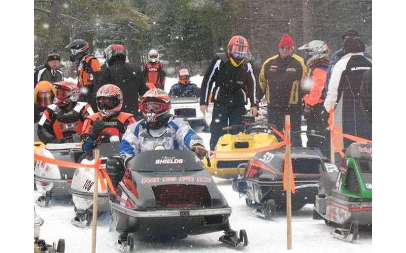 snowmobile parade