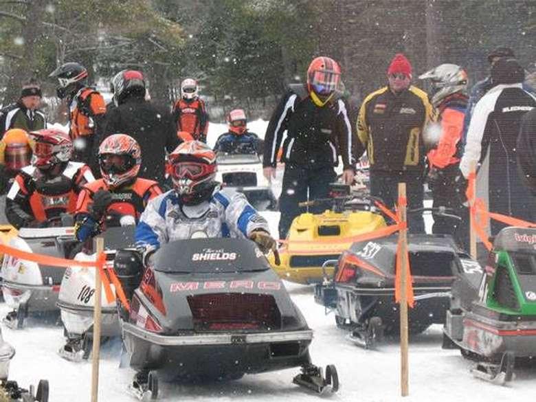 snowmobile parade