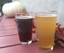 glasses of beer from Druthers