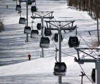 Skiing locally at Gore