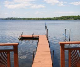 dock on saratoga lake