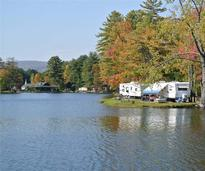 RVs at Alpine Lake