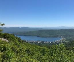 view from the summit of prospect mountain