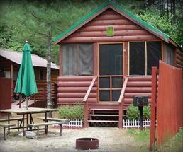 cabin near saratoga