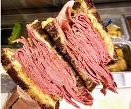 huge deli sandwich
