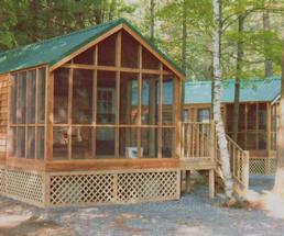 cabins in saratoga