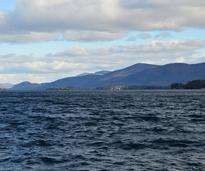 view of waters of lake george
