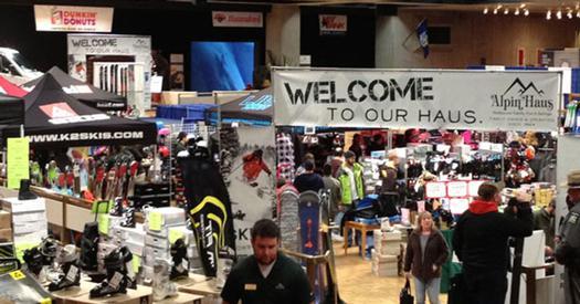 a ski expo