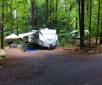 lake george area campsite