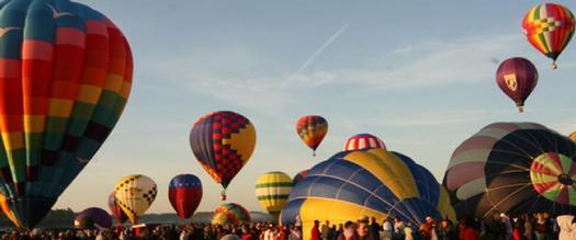 outdoor balloon festival