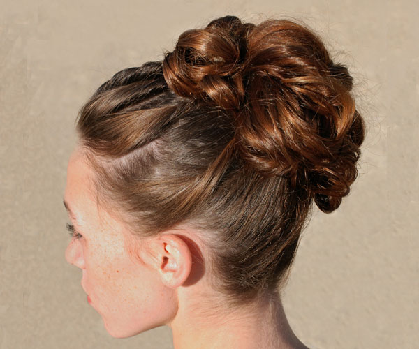 wedding hair style for bride-to-be