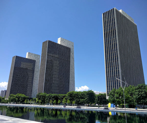 buildings in albany
