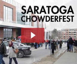 video still of a saratoga chowderfest video clip