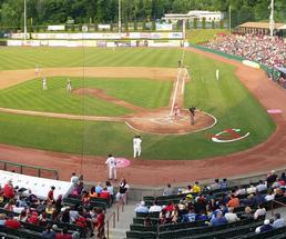 valleycats baseball game