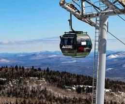 Gore gondola and view