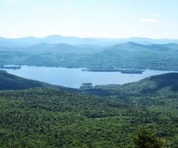 summit of sleeping beauty mountain
